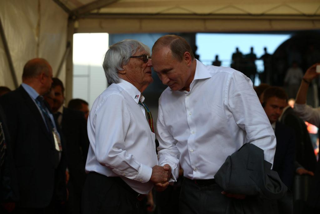 "F1 | Ecclestone difende Putin: ""Vorrei che guidasse l'Europa"""