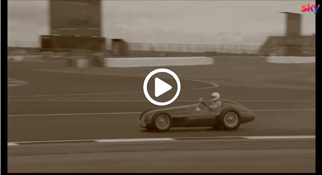 Formula 1 | GP Gran Bretagna, Genè in pista con l'Alfa Romeo 158 del 1950 [VIDEO]