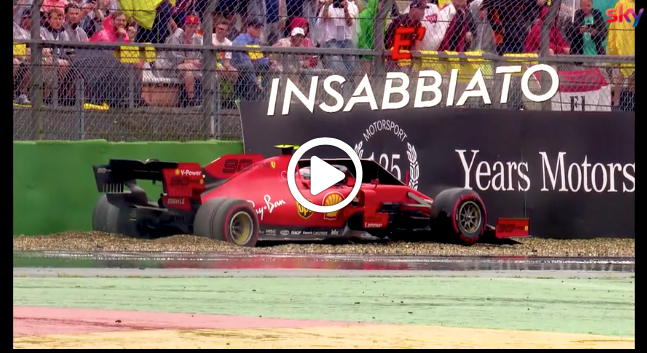 Formula 1   GP Germania, Leclerc a muro: sfuma la prima vittoria in carriera [VIDEO]