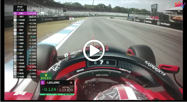 Formula 1 | GP Germania, gli highlights delle libere [VIDEO]