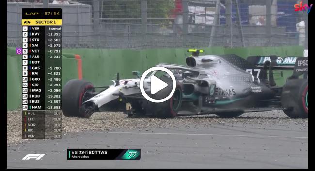 F1 | GP Germania, Bottas spreca un'occasione: fuoripista e zero punti recuperati su Hamilton [VIDEO]