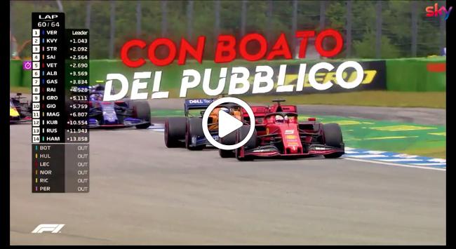 Formula 1 | Vettel show a Hockenheim: la rimonta dalla ventesima posizione [VIDEO]