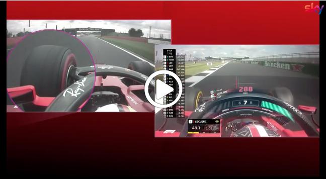 Formula 1 | GP Gran Bretagna, Hamilton e Leclerc: anteriore sinistra a confronto [VIDEO]