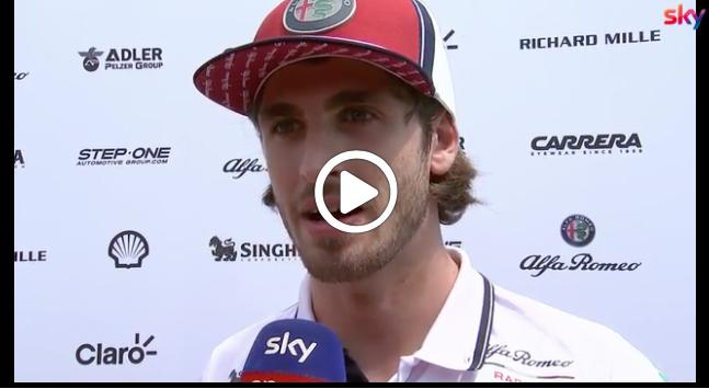 "Formula 1 | Alfa Romeo, Giovinazzi ricorda Marchionne: ""Mi ha voluto in Ferrari"" [VIDEO]"