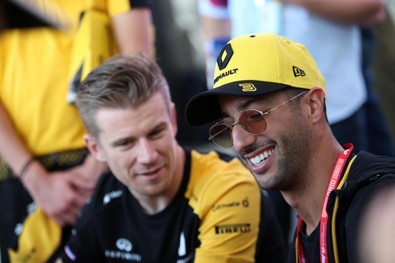 F1   Renault, Ricciardo e Hulkenberg in top 10