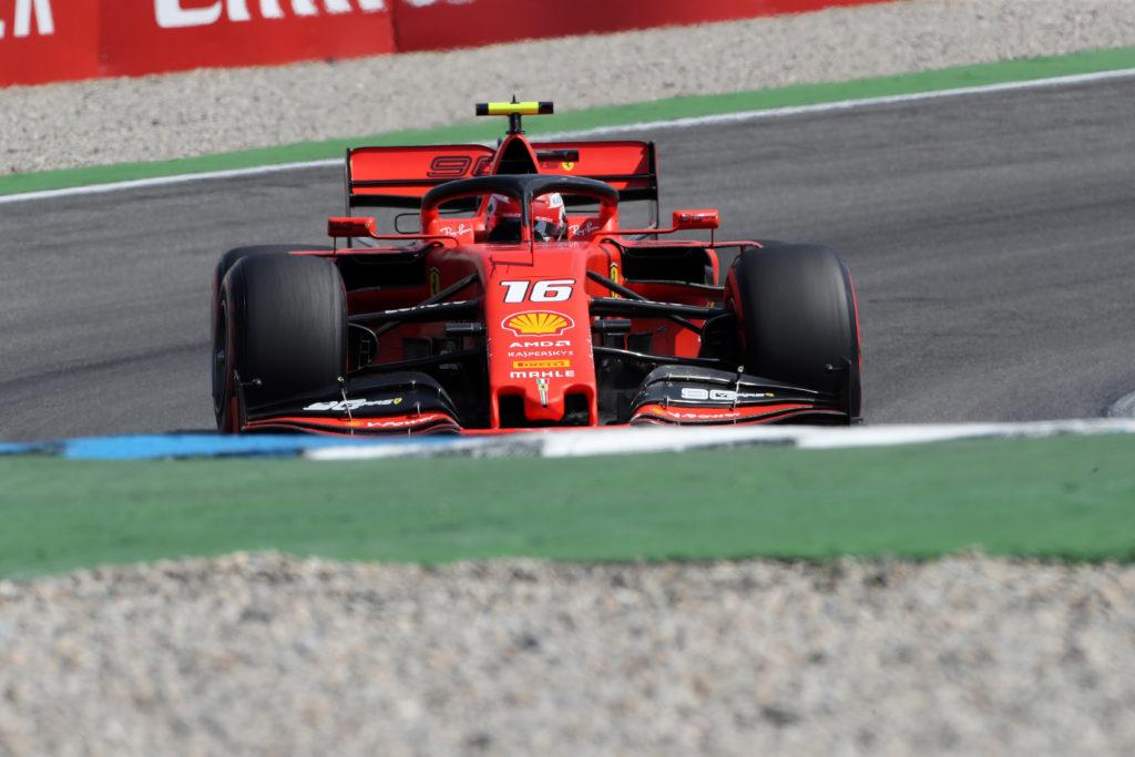 F1 | Ferrari, Leclerc detta il passo nella torrida Hockenheim