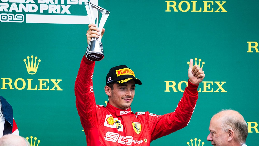 Formula 1 | Ferrari, Leclerc chiude al terzo posto il Gran Premio di Silverstone