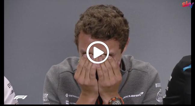 Formula 1 | GP Silverstone, Norris show durante la conferenza: non si trattiene e scoppia a ridere [VIDEO]