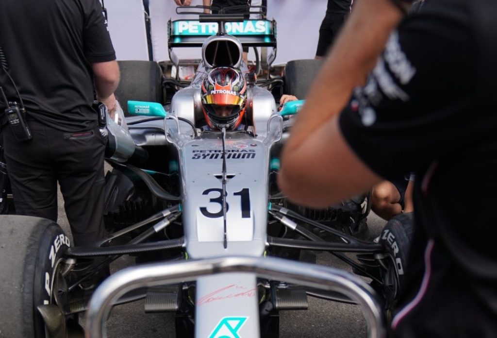 FOS | Mercedes, Ocon in pista al Goodwood Festival of Speed 2019