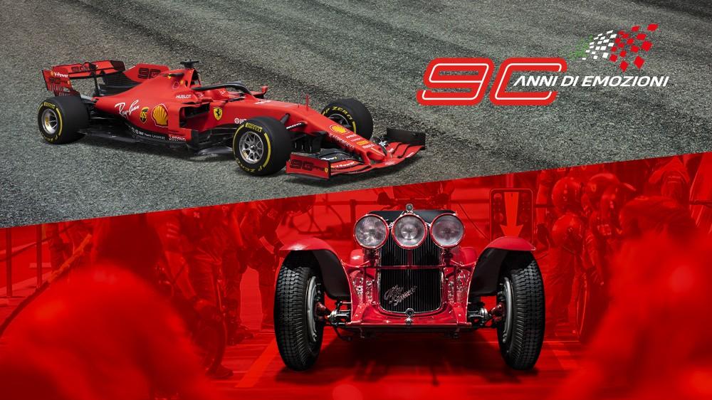ACI e Ferrari festeggiano 90 anni di emozioni