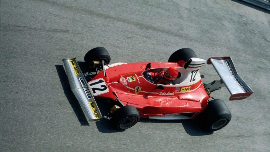 All'asta la Ferrari 312T di Lauda