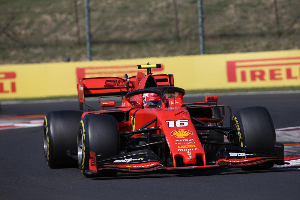 """F1   Leclerc sulle difficoltà patite all'Hungaroring: """"Ho dovuto lottare con le gomme posteriori"""""""