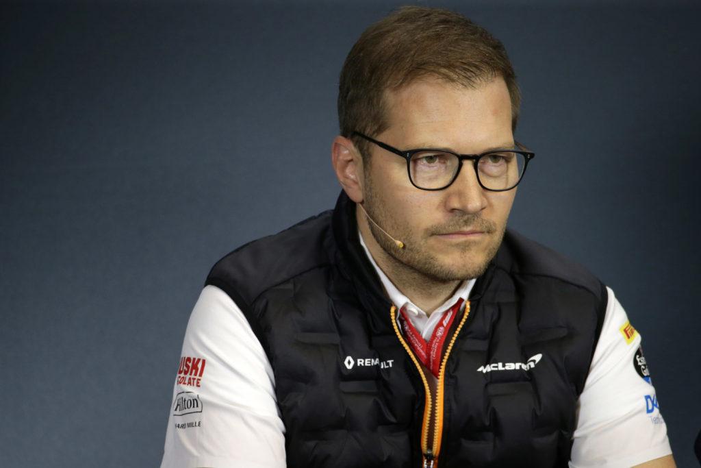 """F1   McLaren, Seidl: """"Finora i due piloti hanno svolto un lavoro fantastico"""""""