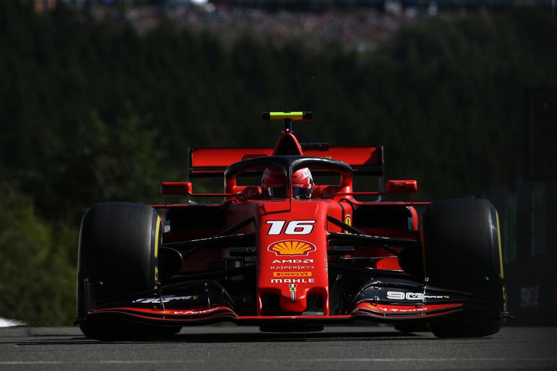 F1 | GP Belgio Libere 3: Leclerc al comando, Hamilton out