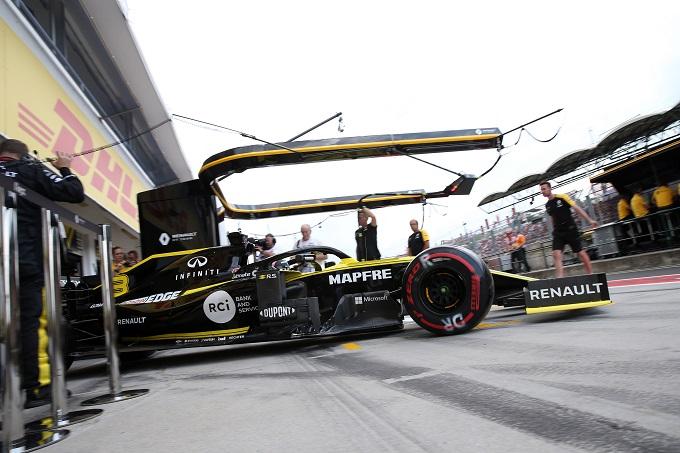 F1 | Renault: montata una nuova PU sulla vettura di Ricciardo