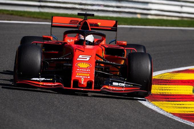 """F1   Ferrari, Vettel: """"Giornata positiva, ma è solo venerdì"""""""