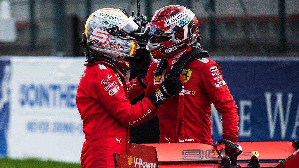 F1 | GP Belgio, Leclerc e Vettel firmano la prima fila per la Scuderia Ferrari a Spa