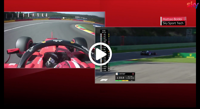 F1   GP Belgio, Bobbi analizza lo stile di Vettel, Verstappen e Leclerc in ingresso curva [VIDEO]