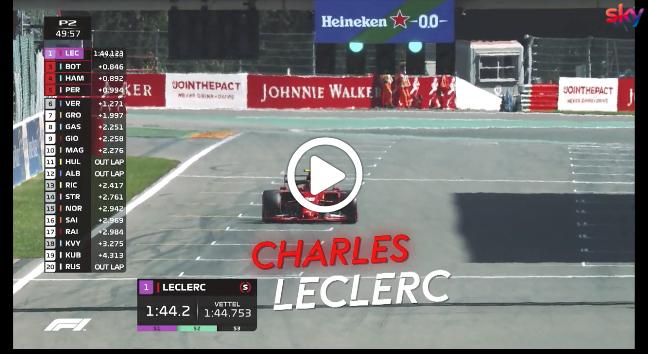 Formula 1   GP Belgio, la sintesi delle prime libere a Spa [VIDEO]