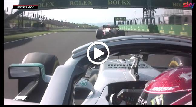 Formula 1 | GP Ungheria, Hamilton di forza su Verstappen: il sorpasso che ha deciso la gara [VIDEO]
