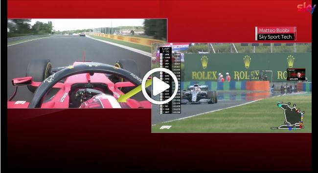 F1 | GP Ungheria, Bottas e Leclerc si toccano al via: l'episodio che ha rovinato la gara del finlandese [VIDEO]