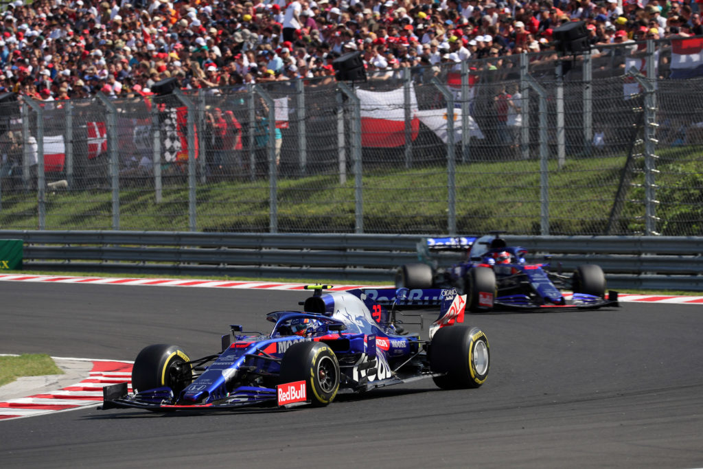 F1 | GP Belgio, Albon e Kvyat in pista con la quarta specifica della power unit Honda