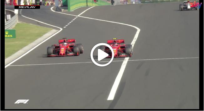 Formula 1 | GP Ungheria, Vettel beffa Leclerc: il sorpasso al termine della gara [VIDEO]