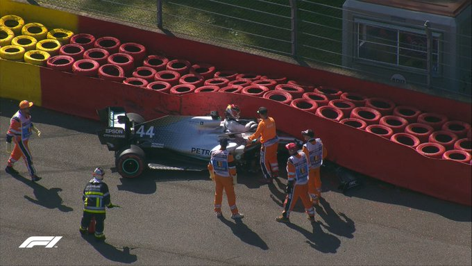 F1 | Flash Spa, Hamilton a muro nelle FP3
