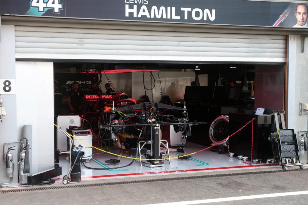F1 | Flash Spa: Hamilton rallentato nelle FP1 da un problema tecnico