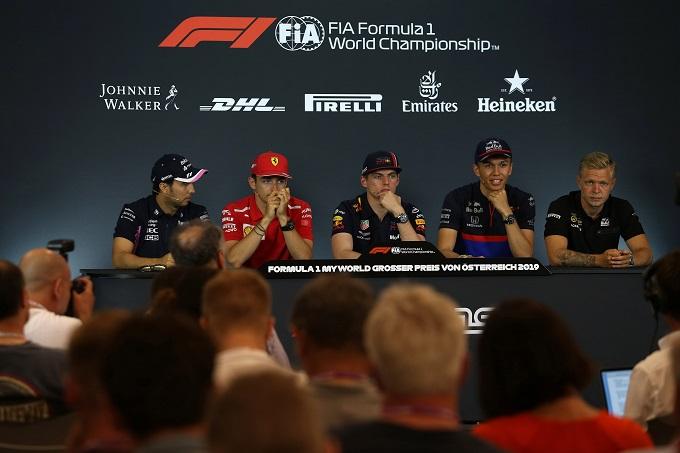 F1 | GP del Belgio, Bottas e Verstappen presenti alla conferenza stampa di domani