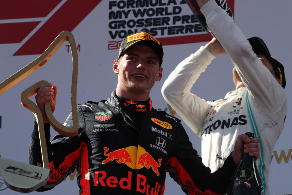 """F1   Red Bull, Verstappen analizza la stagione: """"Il pacchetto portato in Austria sta facendo la differenza"""""""