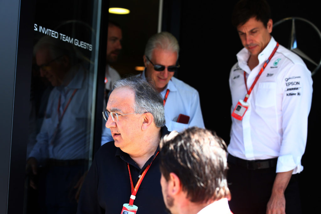 """F1   Wolff: """"La morte di Marchionne non ha cambiato il rapporto tra Mercedes e Ferrari"""""""