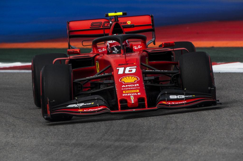 """F1   Ferrari, Leclerc: """"Giornata intensa ma nel complesso positiva"""""""