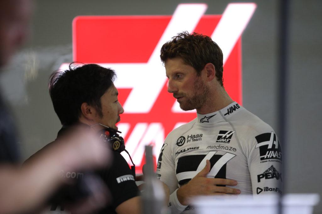"""F1   Haas, Grosjean: """"Felice di essere tornato nel Q3"""""""