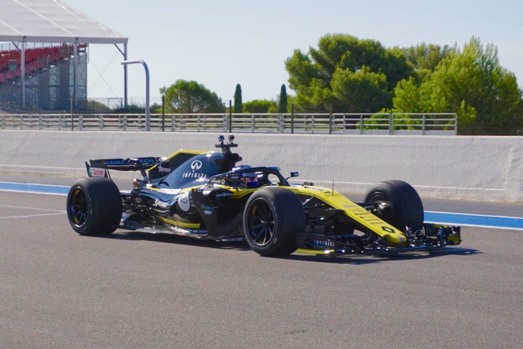 F1   Pirelli, sguardo al futuro: Renault in pista al Paul Ricard con le gomme da 18 pollici