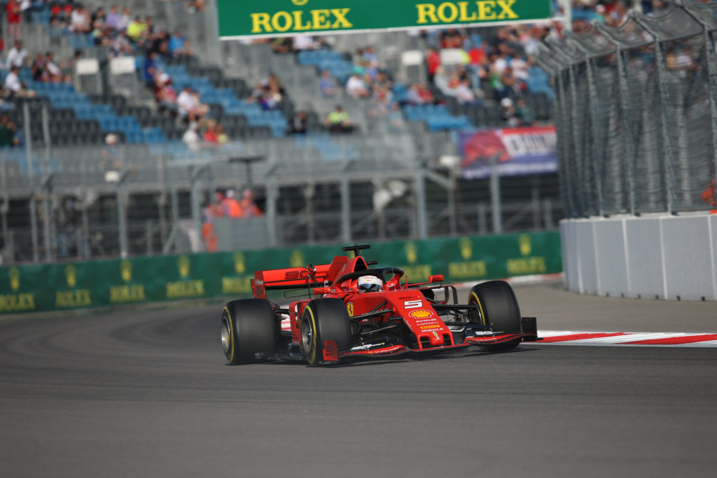 "F1 | GP Russia, Sebastian Vettel eletto ""Driver of the Day"""