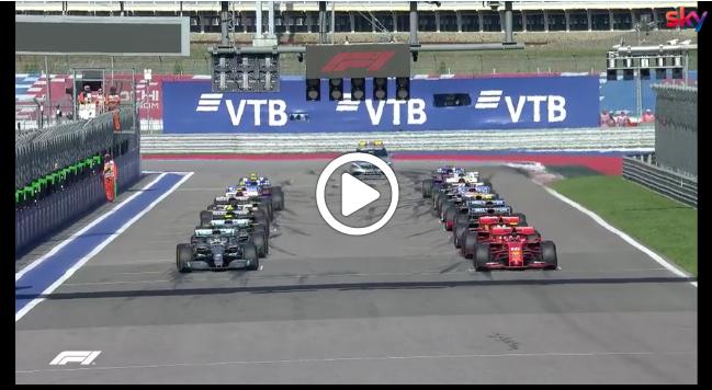 Formula 1 | GP Russia, il primo giro della gara di Sochi [VIDEO]