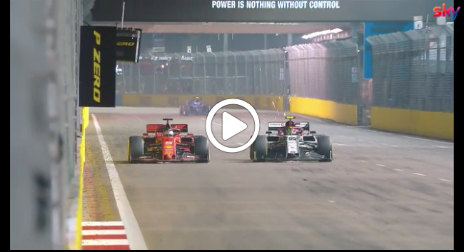 Formula 1 | GP Singapore, le immagini più belle della doppietta Ferrari a Marina Bay [VIDEO]