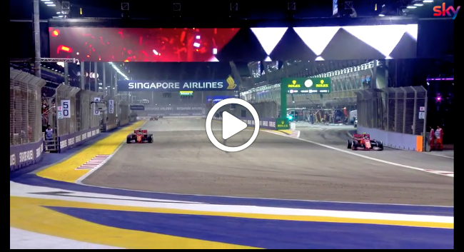 F1 | GP Singapore, gli highlights della gara a Marina Bay [VIDEO]