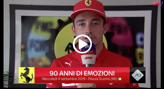 """Festa Ferrari, Leclerc e Vettel chiamano a raccolta gli appassionati: """"Ci vediamo a Piazza del Duomo"""" [VIDEO]"""