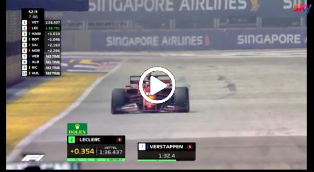 Formula 1 | GP Singapore, Leclerc firma un'altra magia: gli highlights della qualifica [VIDEO]