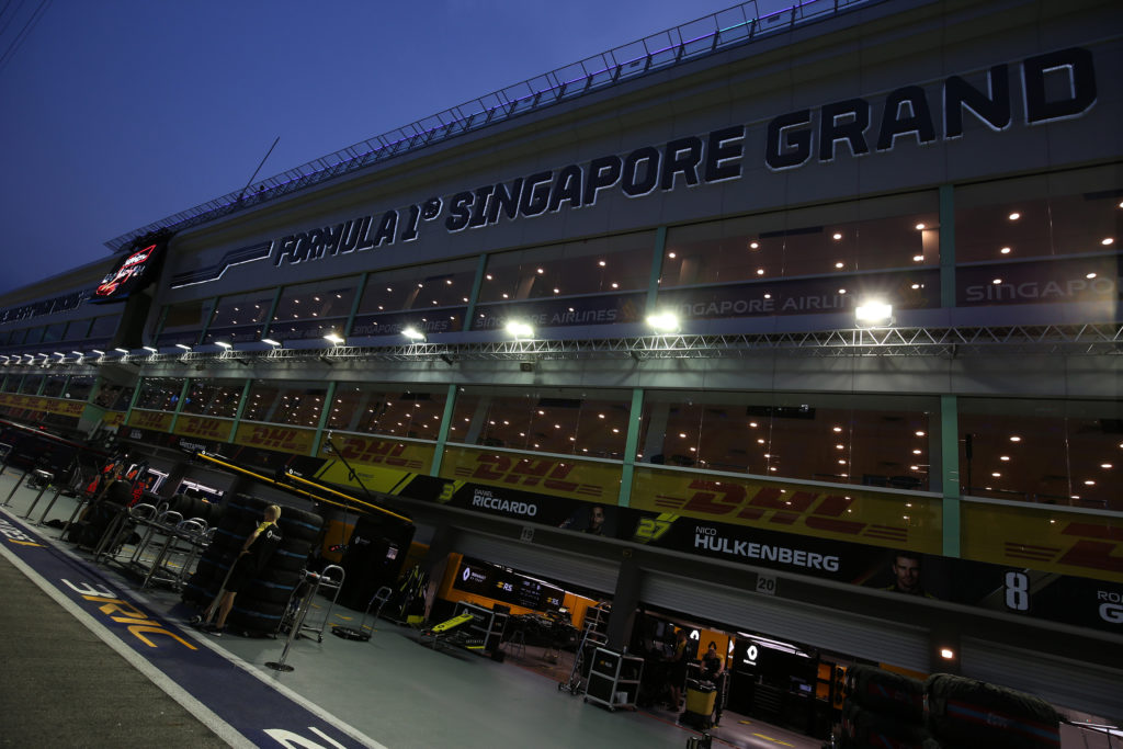 Formula 1 | GP Singapore, gli orari del week-end su Sky Sport F1 HD
