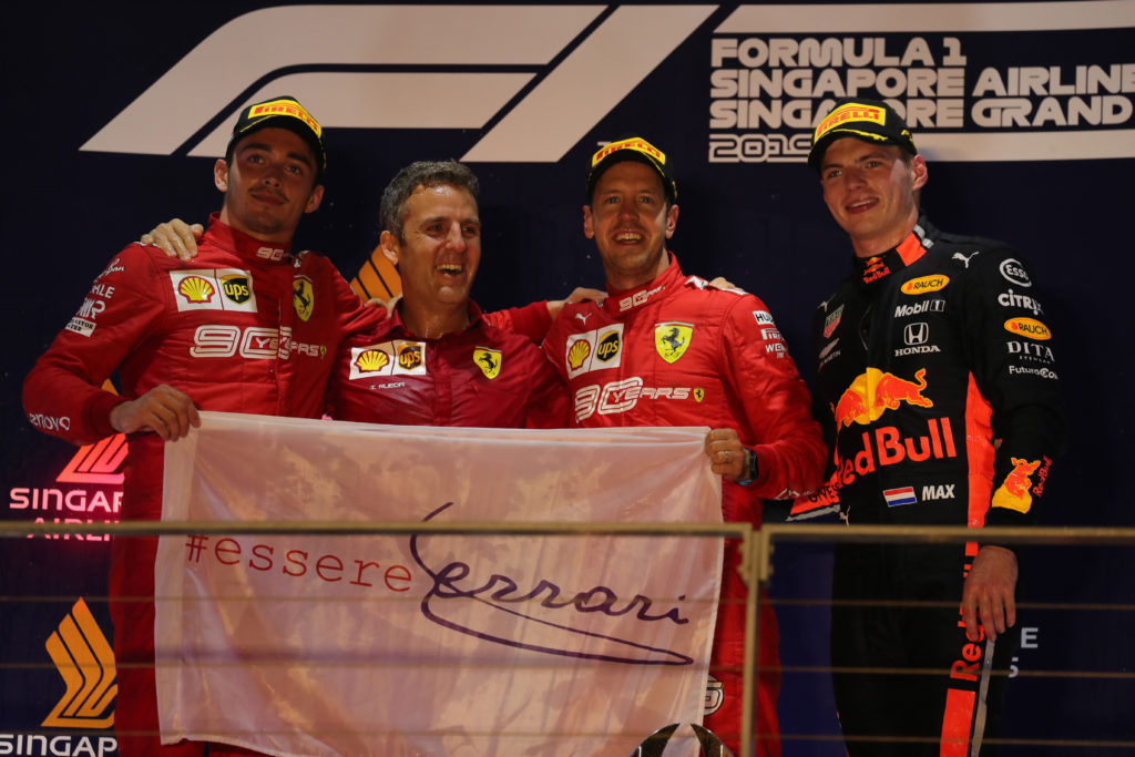 F1 | Pagelle GP Singapore – Vettel dà un calcio alla crisi, Leclerc beffato dalla strategia