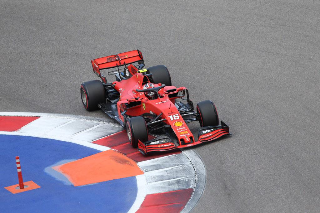 F1 | Gran Premio di Russia: Leclerc in pole, segue Hamilton