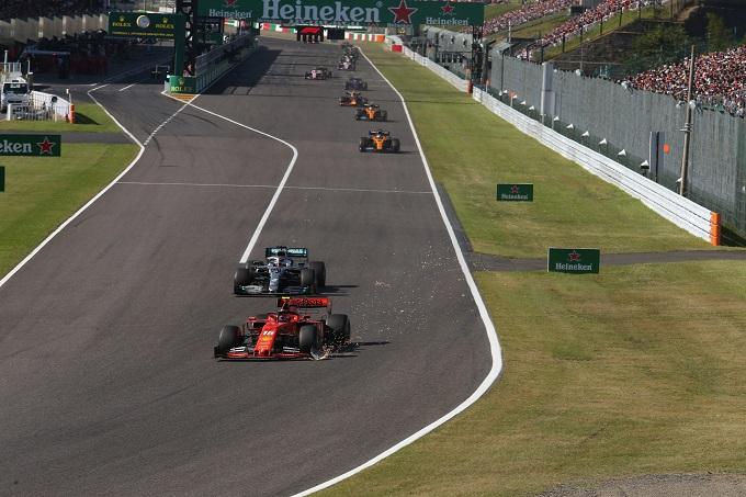 F1 | Penalità Leclerc a Suzuka, la FIA fa chiarezza