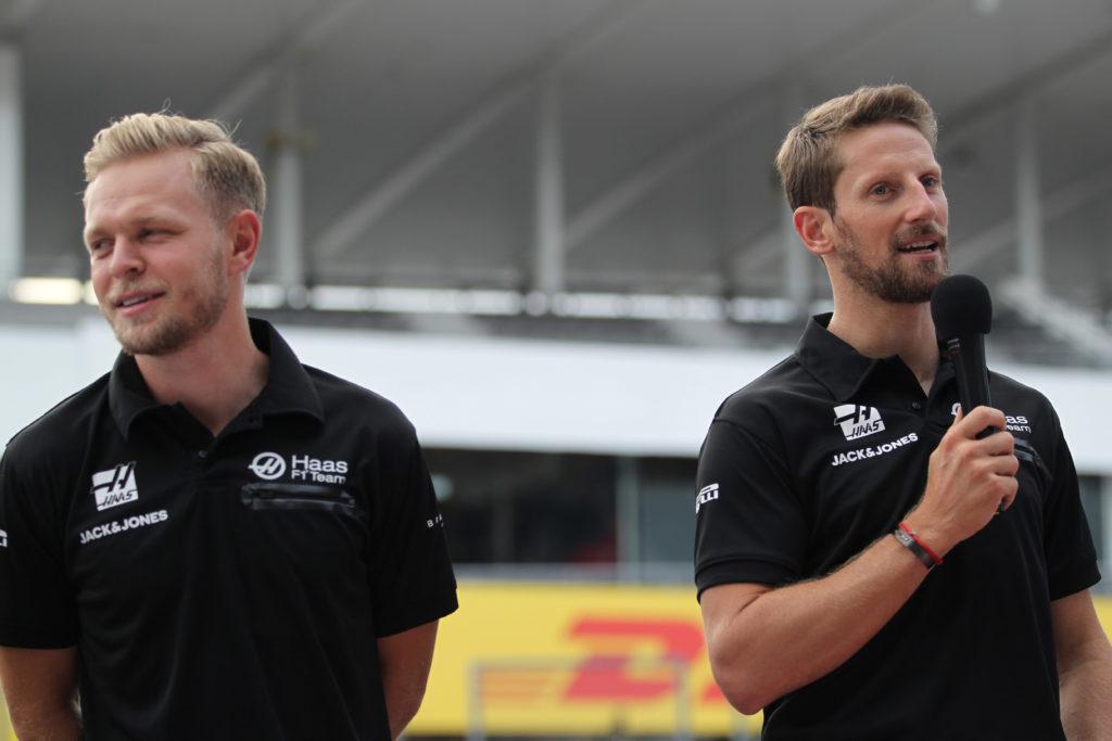 F1   Haas, Grosjean e Magnussen pronti per il Gran Premio di casa e i tifosi americani