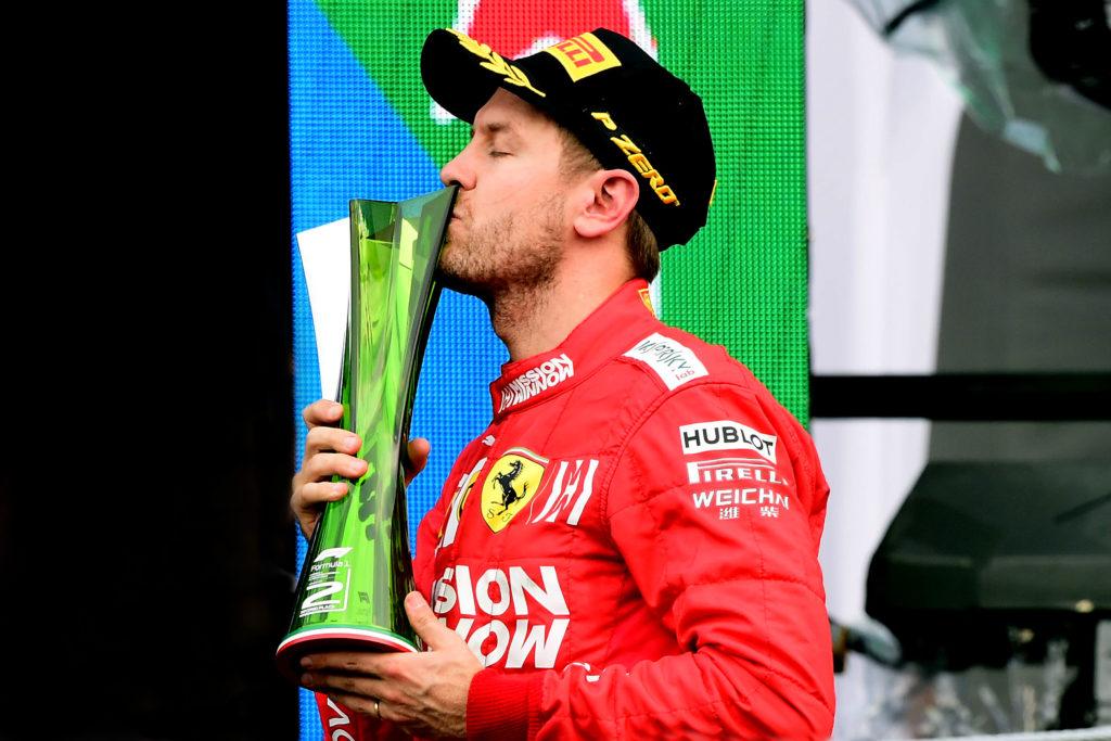 F1   Vettel contrario alla sponsorizzazione dei trofei