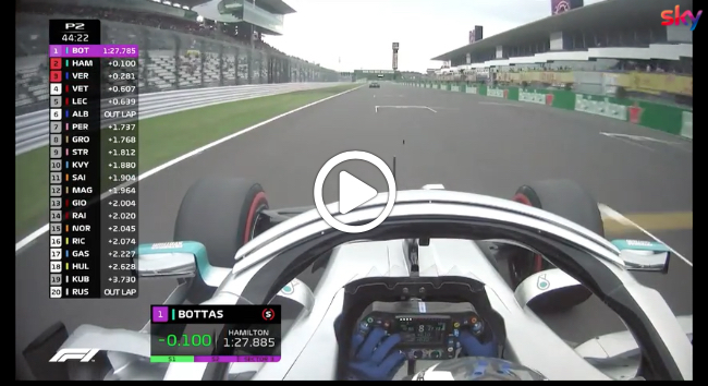 F1 | GP Giappone, l'allerta tifone non rallenta la Mercedes a Suzuka [VIDEO]