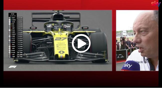 """Formula 1   GP Giappone, Vasseur su Giovinazzi: """"E' sullo stesso livello di Raikkonen"""" [VIDEO]"""