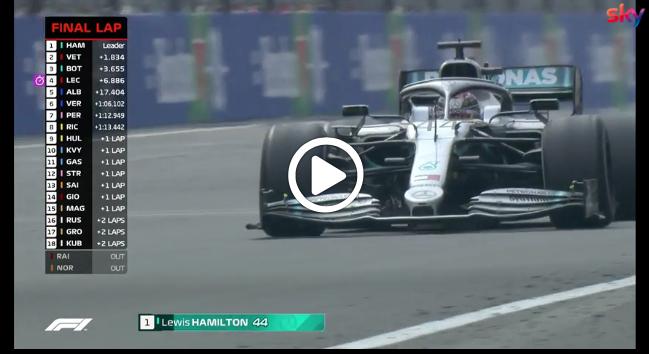 Formula 1 | GP Messico, il giro finale della gara a Città del Messico [VIDEO]